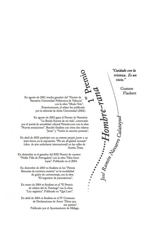 Maquetación de Cubierta de Capítulo del Libro del I Concurso de Cuentos de Agua
