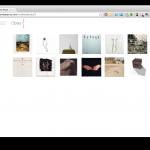 Página principal de la web del artista Jordee Ayuso