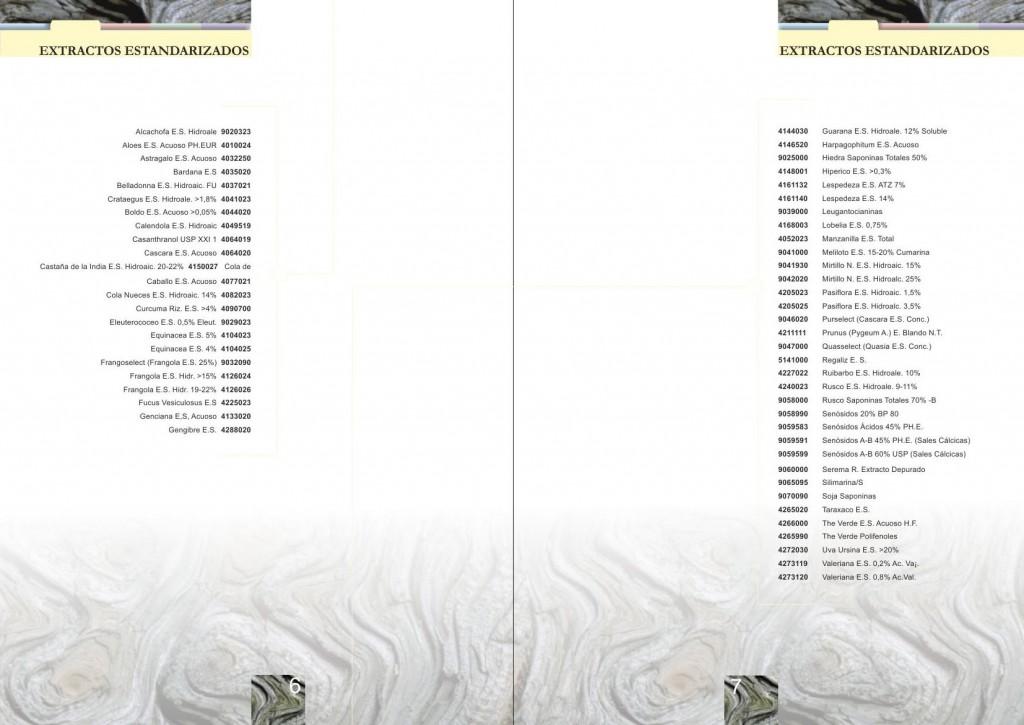 Maquetación de catálogo - maquetación de doble página interior - Producto