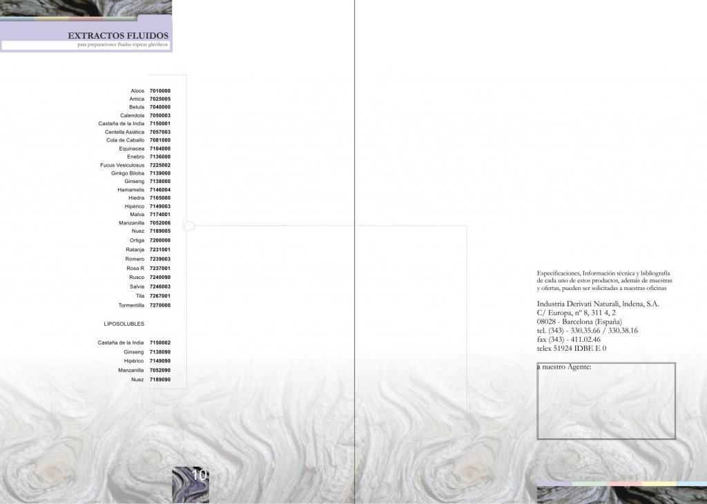 Maquetación de catálogo - maquetación de doble página interior - Productos