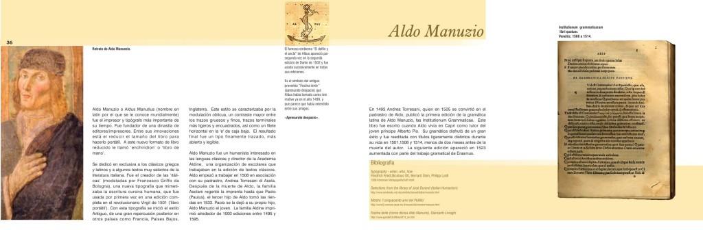 Maquetación de libro - doble página interior - Claude Garamond