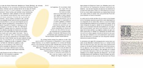 Tipógrafos – Maquetación de libro